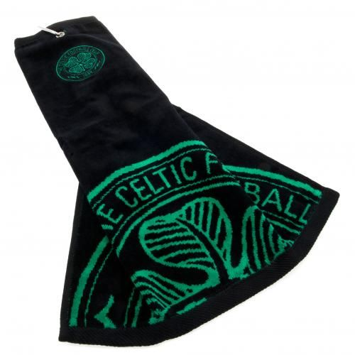 Official Celtic FC Tri Fold Golf Bag Towel