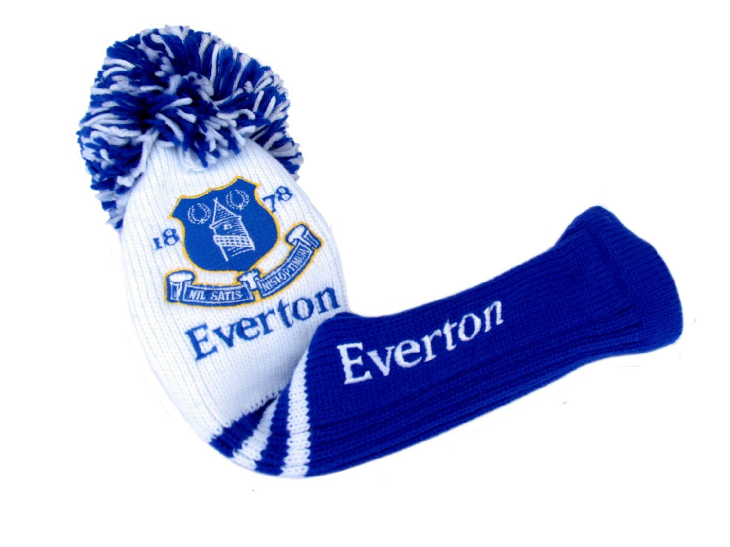 Official Everton FC Pom Pom Golf Driver Headcover