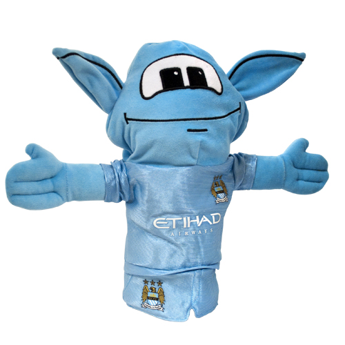 Official Manchester City Fc Moonchester Golf Headcover