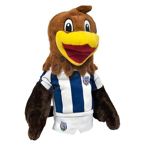 Official West Bromwich Albion FC Mascot Driver Head Cover