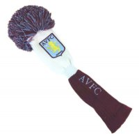 Official Aston Villa FC Pom Pom Fairway Wood Headcover